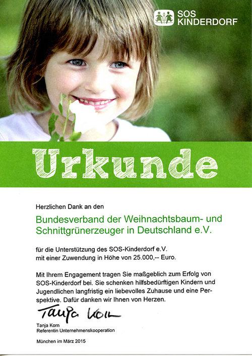 Weihnachtsbaum-SOS-Kinderdorf